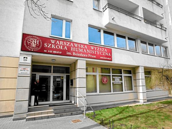 Варшавский гуманитарный университет Б. Пруса